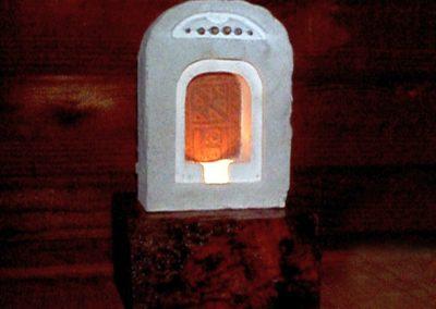 Plaster, Wood, Ceramic