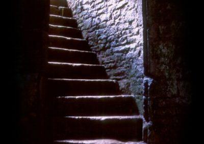 Stairway in Wales Castle