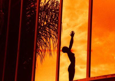 Statue Reflection